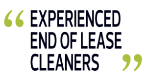 Experienced End of Lease Cleaners